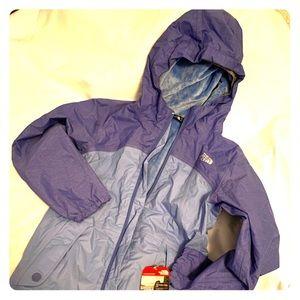 North Face Jacket girls Purple M New